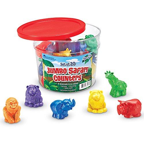 Jumbo Safari Counters - 1