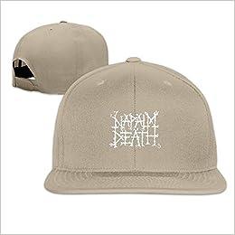 9231dbd331e Amazon.com  Napalm Death British Extreme Metal Band Unisex Trucker Hat  Unisex Caps (6310489016596)  Books