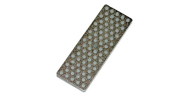 DMT WS4XX 4 3//8-Inch by 7//8-Inch by 3//16-Inch Diamond Whetstone Model Extra-Extra Coarse