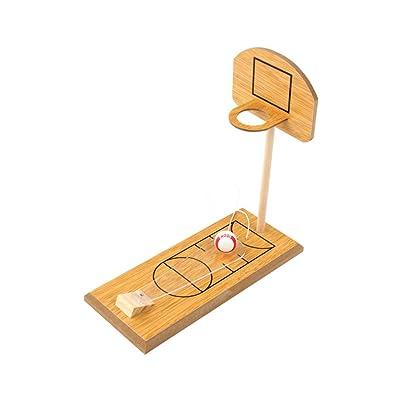Juguete de baloncesto de mesa Baloncesto Mini Toy dedo de Disparos Juegos de juegos de mesa para adultos y para niños juguetes educativos interactivos: Bebé
