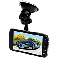 KOBWA Car DVR Recorder,Full HD 1080P Dual Lens Car Dash Cam with Night Vision,Parking Monitor Camera Video Recorder for Vehicle