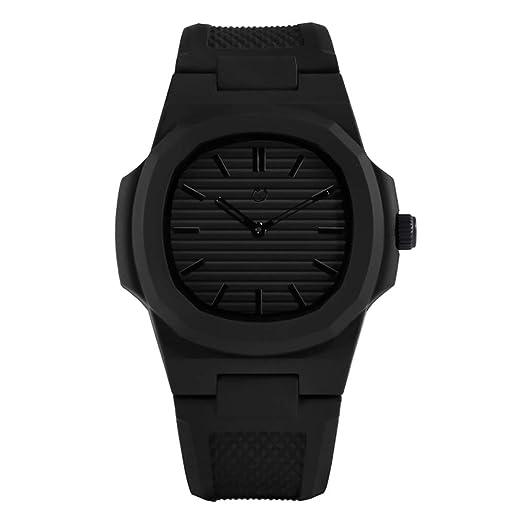 nuun Reloj Unisex Analógica Cuarzo Policarbonato Silicona Midnight nu01-blk: Amazon.es: Relojes