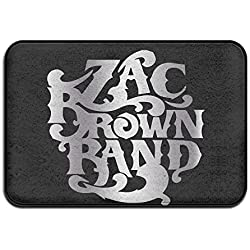 Non-slip Zac Brown Band Platinum Logo 40*60cm Doormat Oxjwn