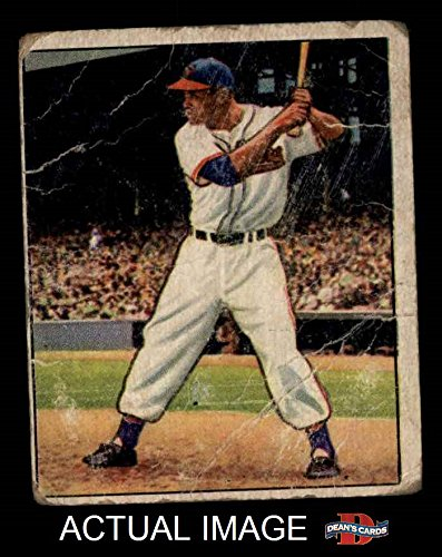 1950 Bowman Baseball (1950 Bowman # 39 Larry Doby Cleveland Indians (Baseball Card) Dean's Cards 1 - POOR Indians)
