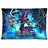 16x24 inch 40x60 cm bedroom pillow cover case Cotton Polyester softness Breathable Yu-Gi-Oh GX