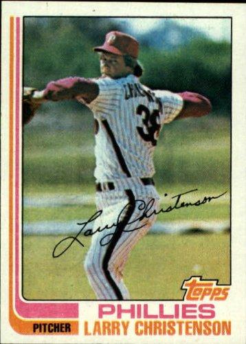 1982 Topps Baseball Card #544 Larry Christenson Mint