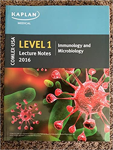 COMLEX-USA Level 1 Kaplan Medical Lecture Notes 2016 - IMMUNOLOGY