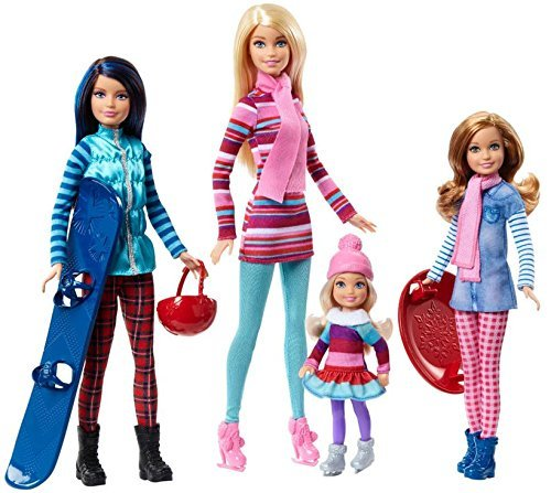(Barbie Sisters Winter Getaway Fashion Dolls)
