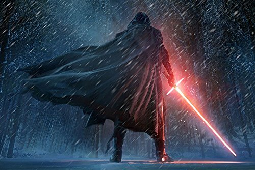 Tomorrow sunny P1674 Kylo Ren The Force Awakens 24x36 inch Silk poster by Tomorrow sunny