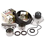 95-99 Chysler Dodge Eagle Mitsubishi Plymouth 2.0 DOHC 16V 420A Timing Belt Kit w/ Hydraulic Tensioner Water Pump