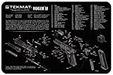 revolver parts - Ultimate Arms Gear Gunsmith & Armorer's Cleaning Work Tool Bench Gun Mat For Ruger SR 9 ( SR 40 ) Pistol Handgun - Large Exploded View Schematics Diagram of Revolver and Parts List