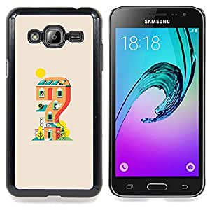 SKCASE Center / Funda Carcasa protectora - Game House;;;;;;;; - Samsung Galaxy J3 GSM-J300