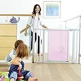 Munchkin Vibe Mesh and Steel Baby Gate, Cherry, Model MKSA0511-011
