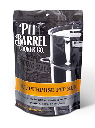 Pit Barrel Cooker PRO250AP All-Purpose Pit Rub 2.5 Lb. Bag, One Size (Pit Barrel Cooker Package)