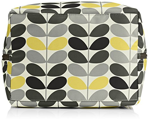 Orla Kiely Tonal STEM Printed Large Box, Borsa a Spalla Donna Multicolore (Multicolour (Foliage))