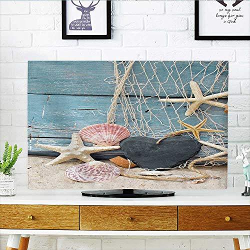 "Price comparison product image Philiphome Television Protector Gutschein für Urlaub am Meer Television Protector W25 x H45 INCH/TV 47""-50"""