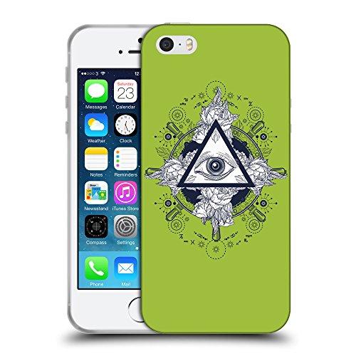 GoGoMobile Coque de Protection TPU Silicone Case pour // Q08530603 Religion 17 Android vert // Apple iPhone 5 5S 5G SE