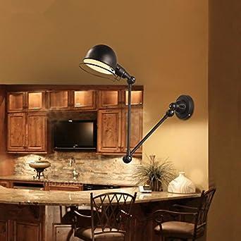 Anbiratlesn Modern E27 Vintage Rustikal Wandlampe für ...