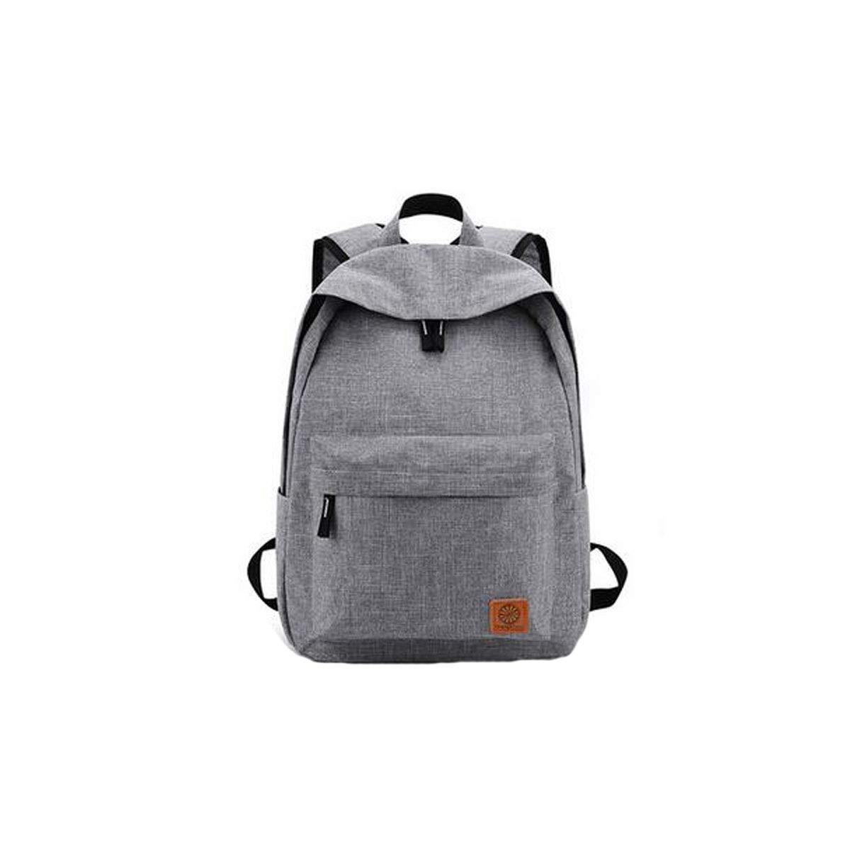 Chenjinxiang ファッション ビジネス シンプル コンピューター バックパック、旅行、レジャー ファッショントレンド カレッジ 学生バッグ (ブラック、グレー、ブルー) グレー