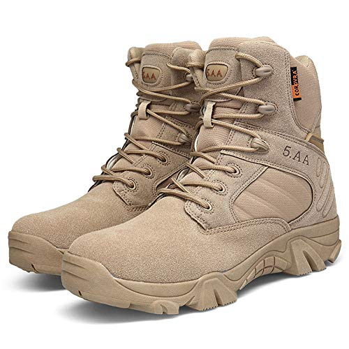 DFUCF Men's Tactical Boots Military Boots for Hiking Boots Breathable Combat Boots Hiking B07H7YWRKL Shoes 746720