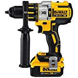 DEWALT DCD995M2 20-Volt Max XR Lithium Ion Brushless Premium 3-Speed Cordless Hammerdrill Kit