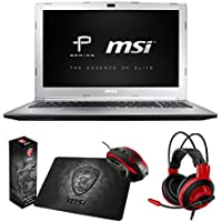 MSI PL62 7RD-017 (i7-7500U, 32GB RAM, 256GB SATA SSD, GTX 1050 2GB, 15.6 Full HD, Windows 10 Pro) Professional Laptop