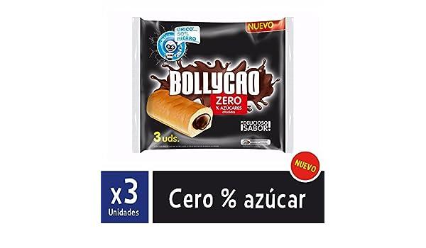 Bollycao Zero - Paquete de 3 x 60 gr - Total: 180 gr: Amazon.es: Alimentación y bebidas