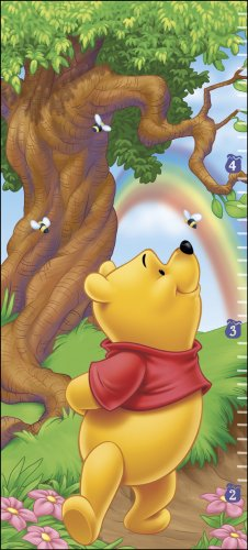 Blue Mountain Wallcoverings 31720502 Pooh Self-Stick Growth Wall Chart, Baby & Kids Zone