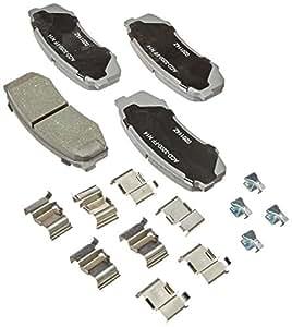 ACDelco 14D606CH Advantage Ceramic Rear Disc Brake Pad Set