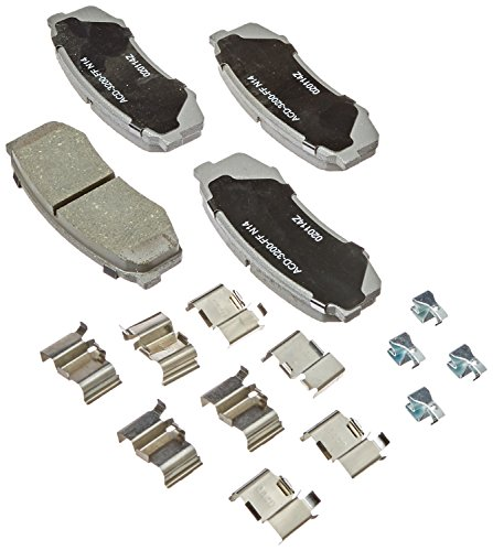 ACDelco 14D606CH Advantage Ceramic Rear Disc Brake Pad Set