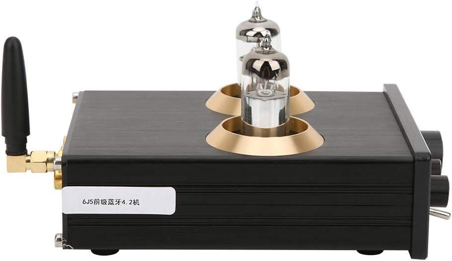 100W Ccylez Audio 6J1 R/öhrenvorverst/ärker 100W HiFi-Stereo-Vorverst/ärker f/ür Heimkino-Audio DC12V 2A Audio Digital Leistungsverst/ärker