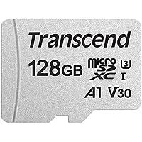 Transcend TS128GUSD300S 128GB UHS-I U3A1 MicroSD Memory Card