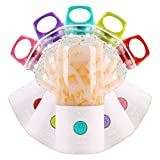Lemonda Mini Portable Juicer Cup Rechargeable Electric Juice Blender Mixer,Fruit Mixing Machine Ice Blender Mixer with Battery USB Charger Water Bottle for Home Outdoor Use (Purple)