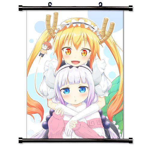 Miss Kobayashi's Dragon Maid Anime Wall Scroll Poster  Inche