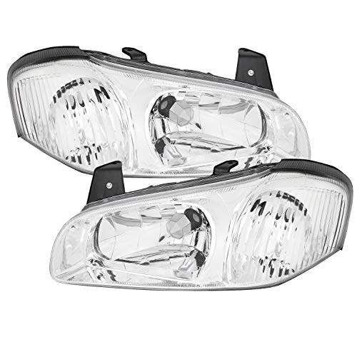Fits 2000 2001 Maxima Headlights Front Headlamps Pair Direct Replacement Both Left + Right 00 01