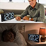 "K-STAR 9"" Digital Alarm Clock Large LED Display"