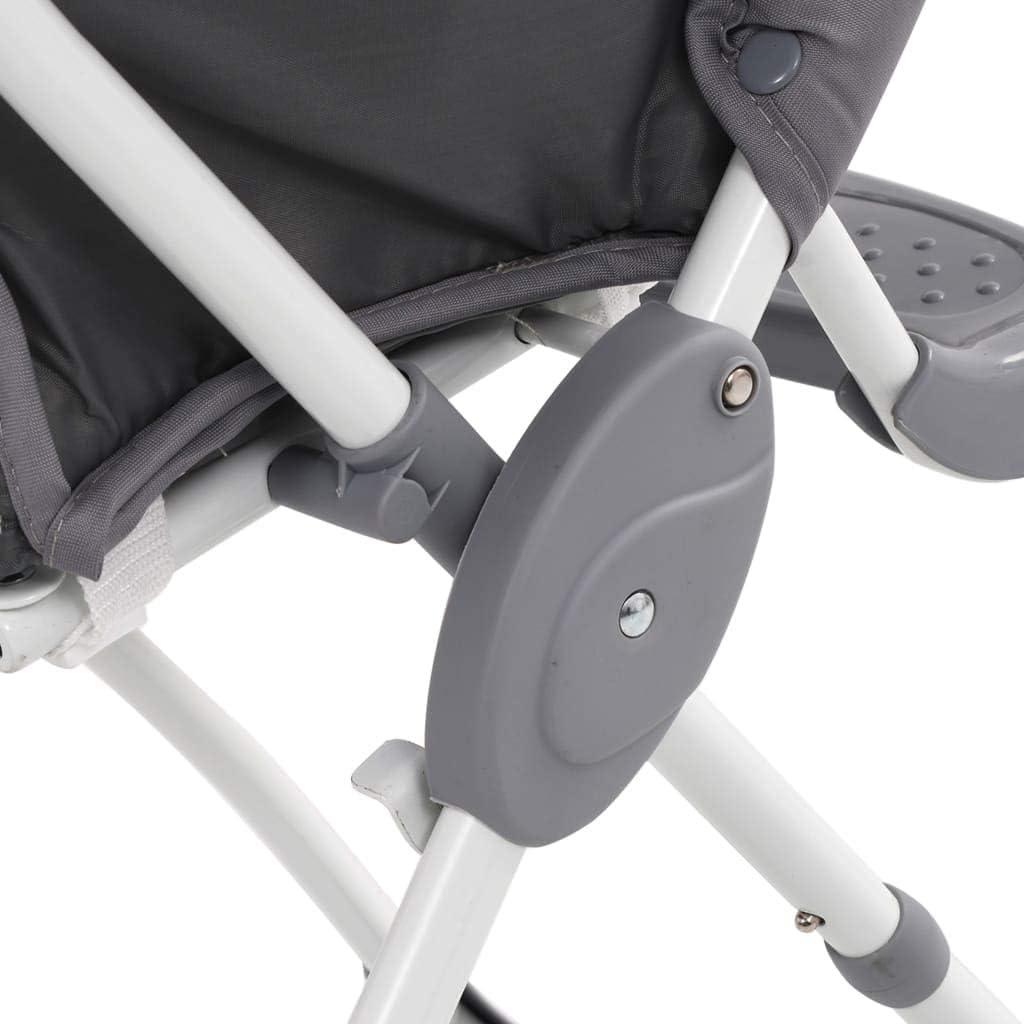 Festnight Baby-Hochstuhl Grau und Wei/ß Kinderhochstuhl Babystuhl Kombihochstuhl f/ür Kinder ab 6 bis 48 Monaten