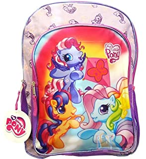 My Little Pony Friends Lets Fly A Kite Backpack Large Rainbow