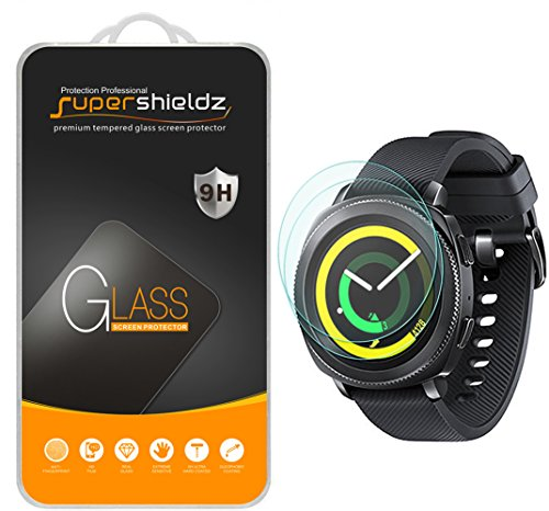[2-Pack] Supershieldz for Samsung Gear Sport Tempered Glass
