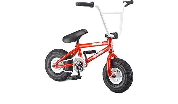Rocker Mini BMX Grime Irok + pequeño Stunt Jump Bicicleta para ...