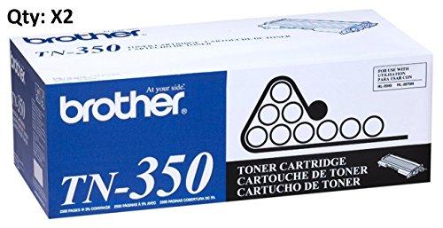 Brother TN350 2 Pack Standard Yield Toner Cartridges