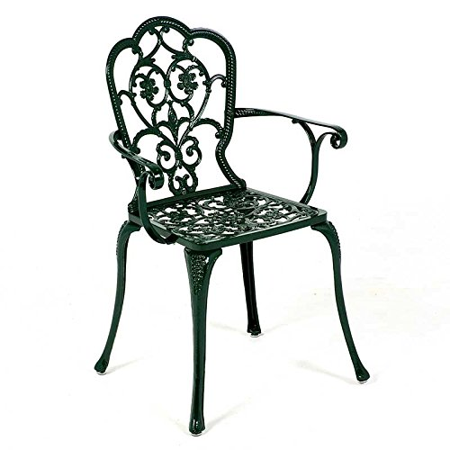Al aire libre Patio sillón fabricado en aluminio con patas ...