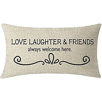 Amazon Com Jeartyca Funny Pillow Welcome To Our Home