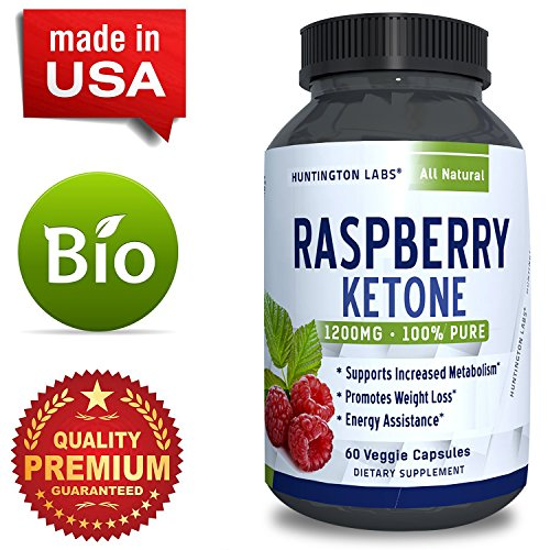 Pure-Raspberry-Ketones-Supplement-Natural-Fat-Burner-Appetite-Suppressant-Boosts-Metabolism-Reduces-Belly-Fat-Fast-Weight-Loss-Product-for-Men-Women-60-Capsules-Huntington-Labs