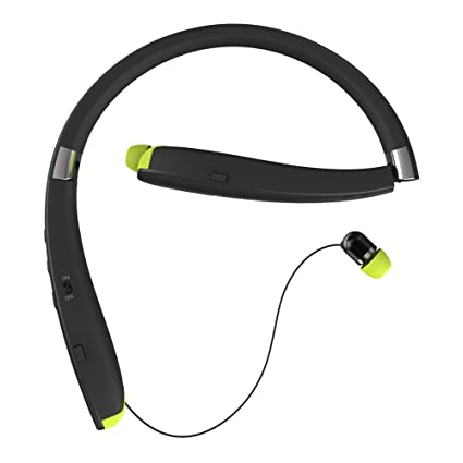Suicen SX-990 Sports Bluetooth headphones Anti-lost Retractable and Foldable Neckband wireless headset