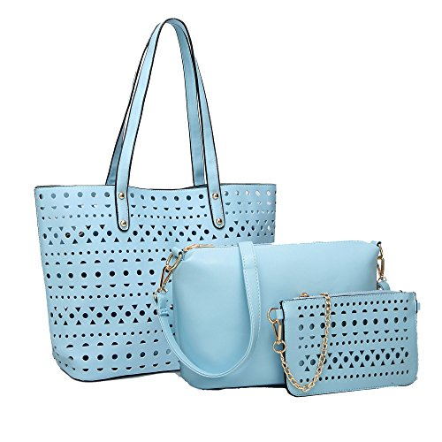 Diagonal Cut Woman Blue Fashion Bag Bag Shoulder Wild TAq1XpA