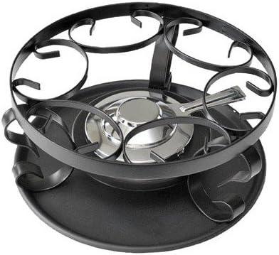 Schwarz 26864000 - Hornillo de fondue quemador, color gris