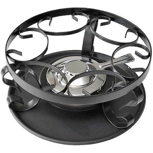 Schwarz 26864000 - Hornillo de fondue quemador, color gris ...