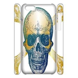 C-Y-F-CASE DIY Human Skull Pattern Phone Case For iPhone 5C