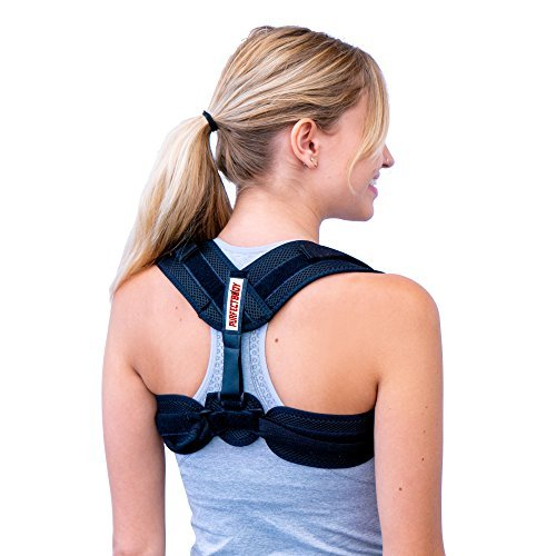 Posture Corrector for Women Men | Effective and Comfortable Adjustable Posture Correct Brace | Shoulder Support Brace | Posture Back Support | Discreet Design | Chest Support by PurfectBody